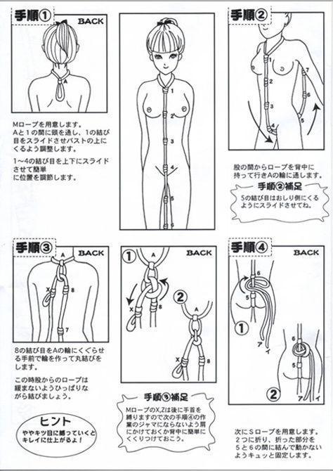 Learn bondage knots