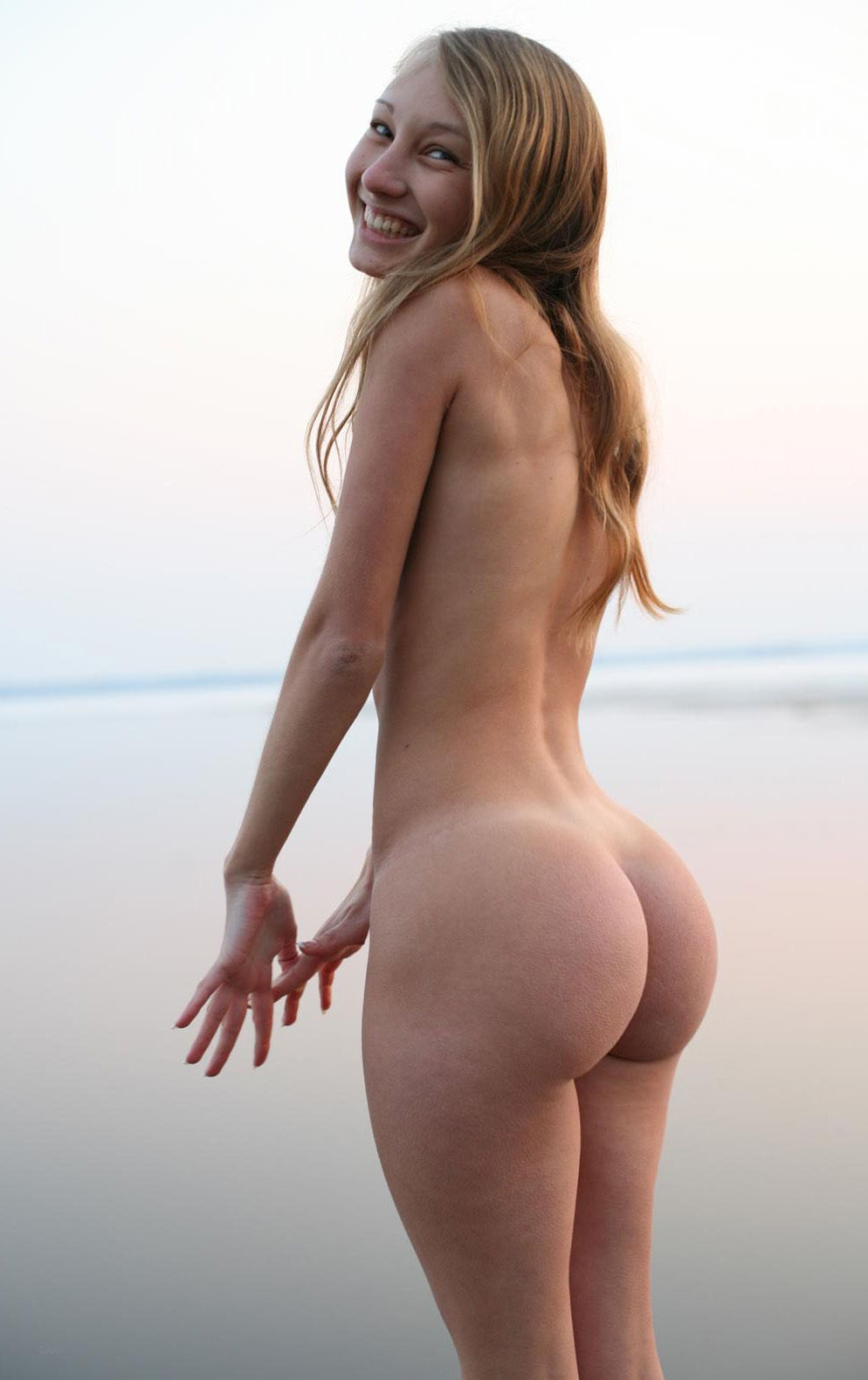 In Between My Ass Cheeks Skinny PAWG with Bubble Butt Booty Thick Nipples.