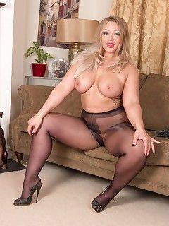 best of Inb heels stockings Mature
