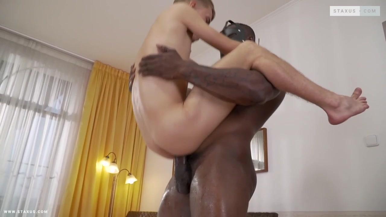 Standing interracial