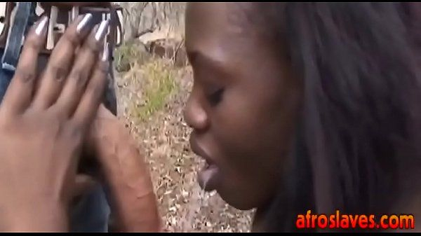 Africa slave suck cock and interracial