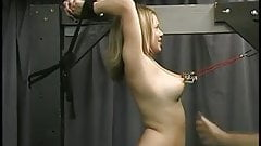best of Bdsm pulled Granny tits