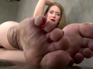 Mature feet domination