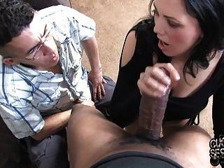 Wife present big cock