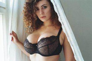 Busty amateur lingerie