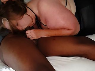 Wife loves to suck his member