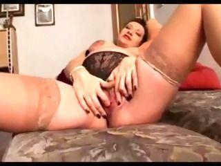 Pregnant masturbation squirt