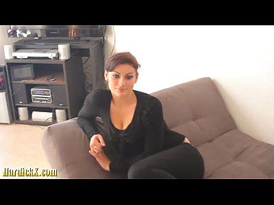 Massage Rooms Tattooed Italian brunette Marica Chanelle oily fuck session.