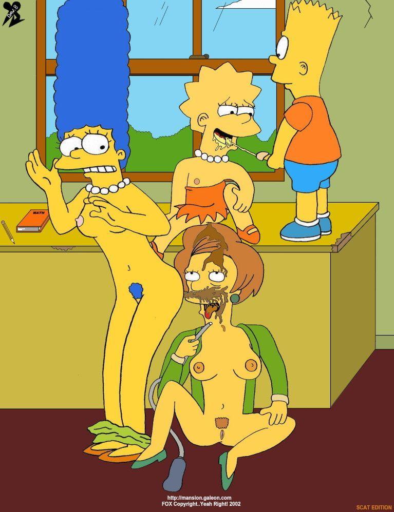 best of Dildo Mrs krabappel naked with