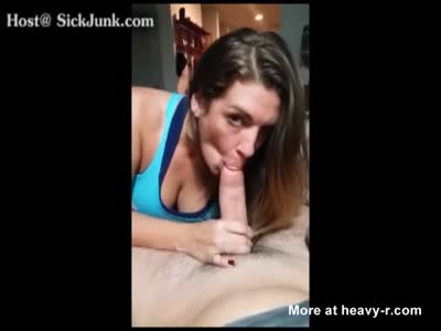 Quick And Huge Creampie After Week Of Teasing And Edging.
