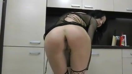 Dildo disappears ass