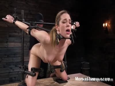 Breast bondage extreme