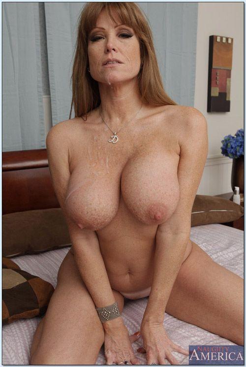 Big tits milf mom