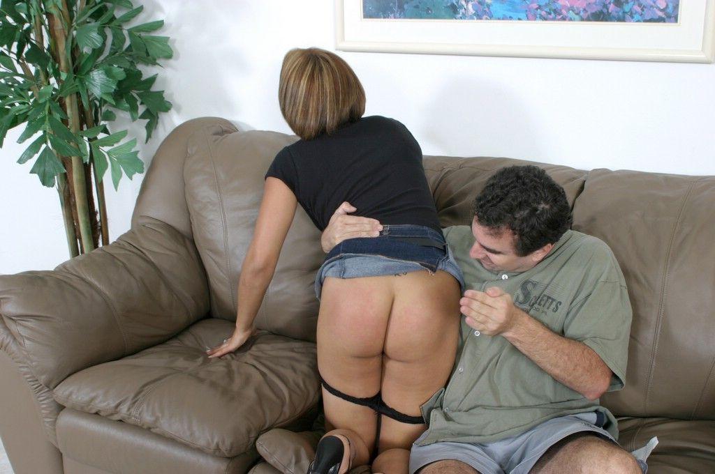 Husband spank story wife