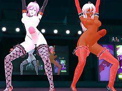 Futanari mmd dance