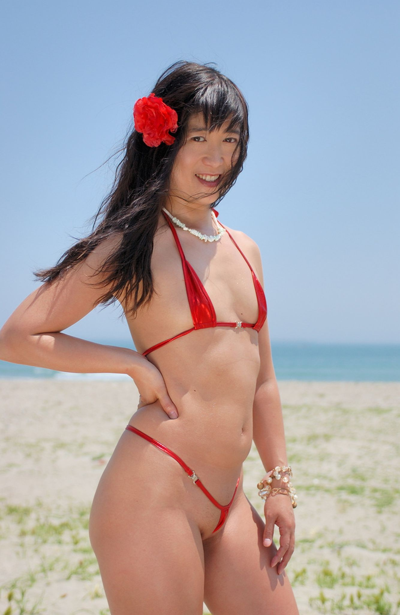 Sling reccomend Asian in small bikini