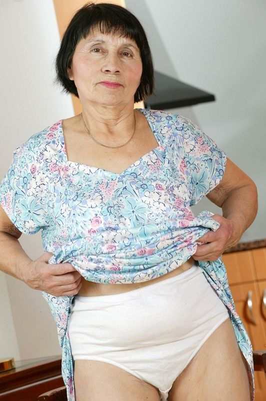 Spike reccomend granny white panties