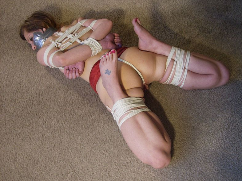 best of As bondage barefoot Going