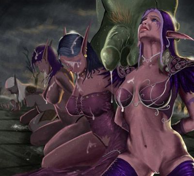 Naked world of warcraft porno