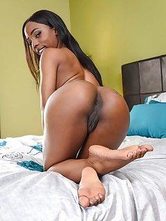 Black ebony strippers naked