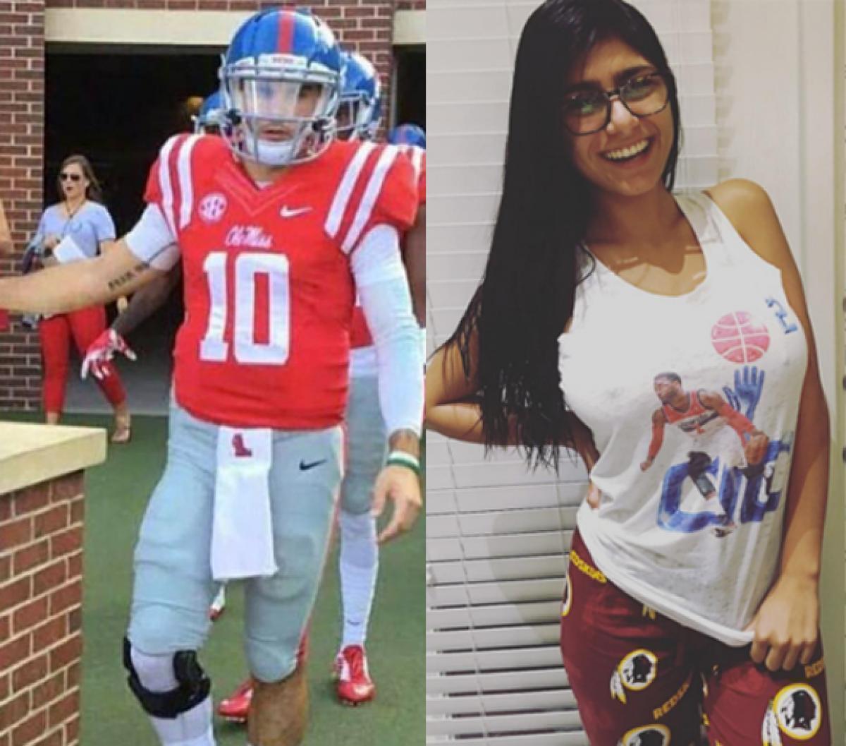 Hot C. recomended quarterback college