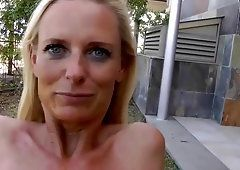 best of Blowjob pissing shaved blonde penis and