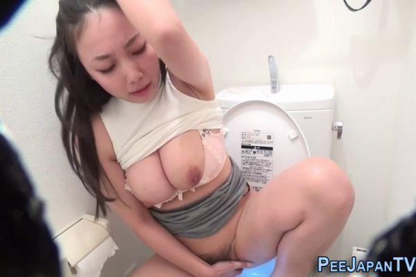 Busty asian masturbation