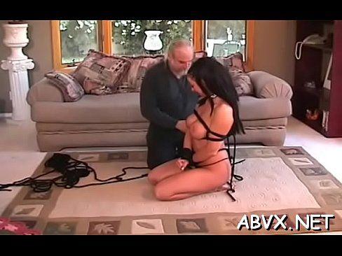 Beautiful women in bondage