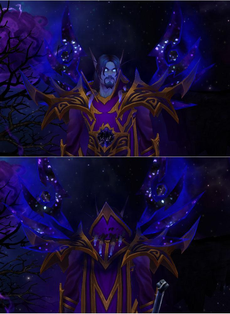 Hun reccomend world warcraft void elf