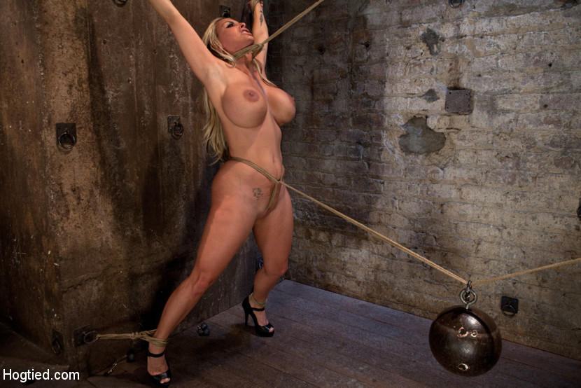 Crotch rope struggle
