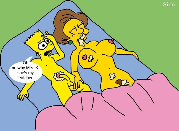 Number S. reccomend Mrs krabappel naked with dildo