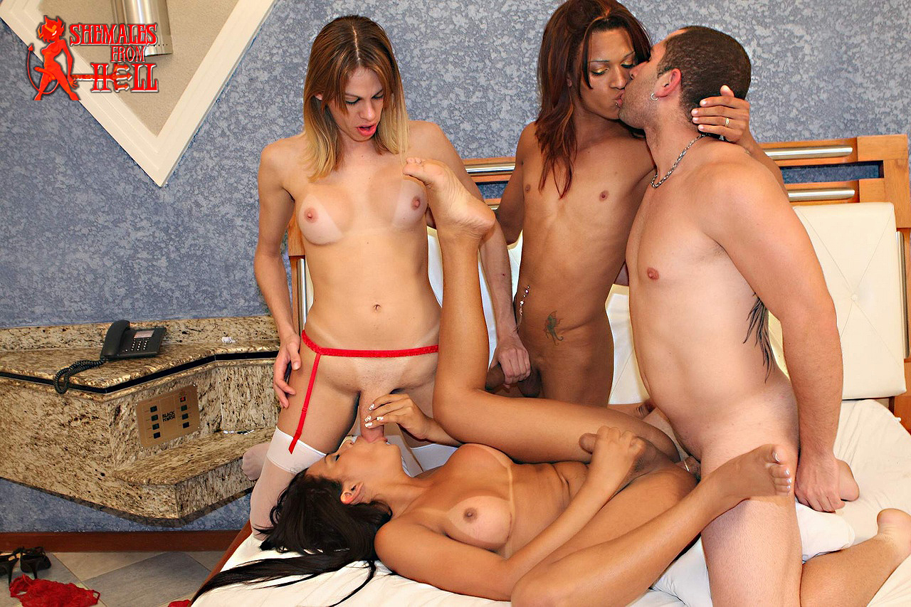 Free shemale orgy pictures