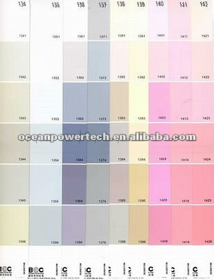 Asian paint colour card