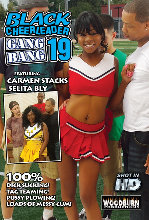 All girl cheerleader gangbang