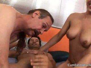 Burberry reccomend wife makes husband eat his cum