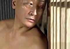 Bdsm japanese blowjob penis on beach