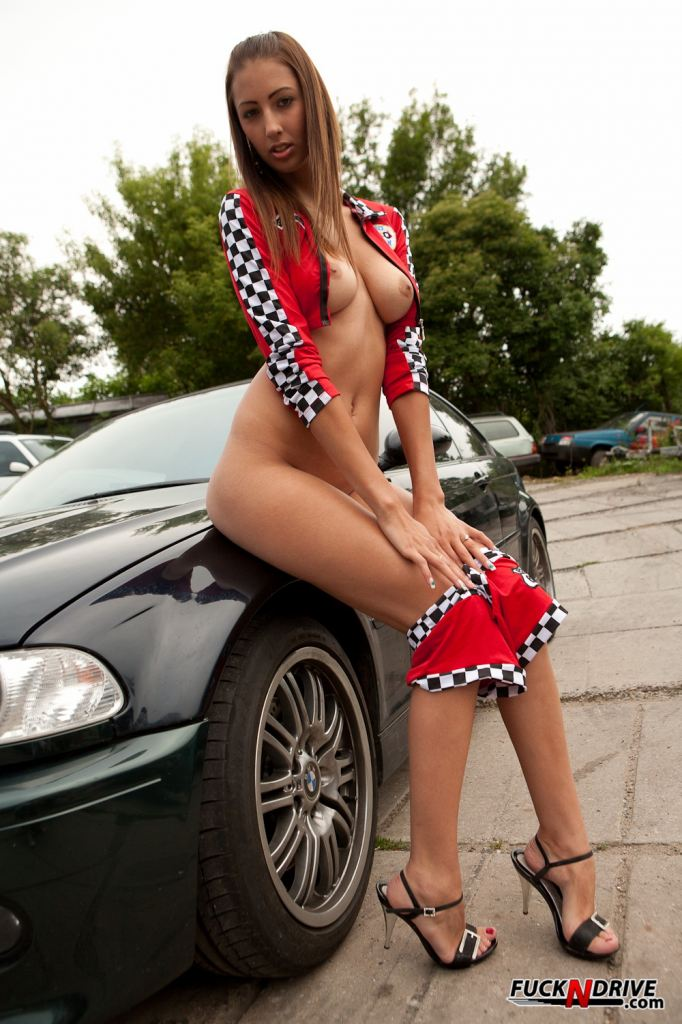 Cheddar reccomend Porno girls and racing cars