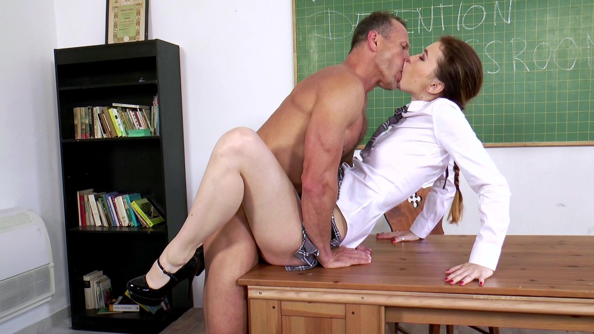 Blue L. recommend best of schoolgirl classroom teacher
