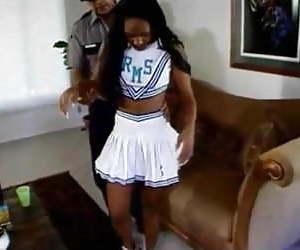 Spanking black girl