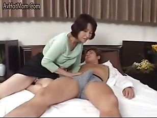 Brown S. recommendet Lonely JAV Milf Invites Guy to Her House and Fucks.