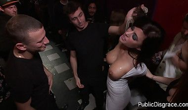 Stripped in public and fucked porn gifs