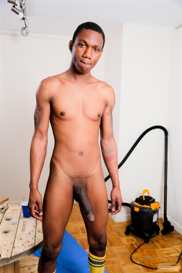 Cock jerking handjob gay porn