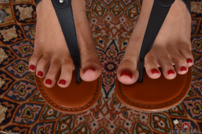 April brookes feet
