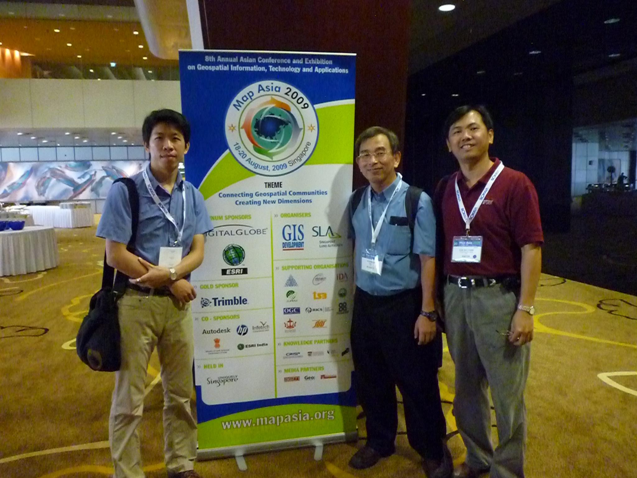 Hurricane reccomend Asian geospatial conference