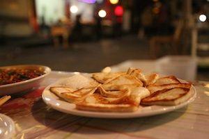 Asian naan bread
