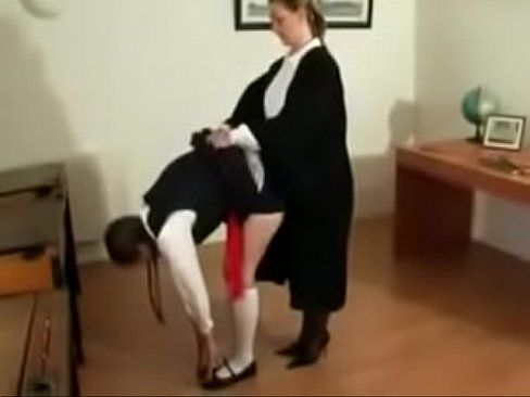 Frost recomended schoolgirl caning british