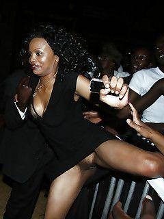 Bazooka reccomend black upskirt ebony pic