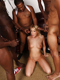 best of Gangbang Interracial Angel Sex Brittany