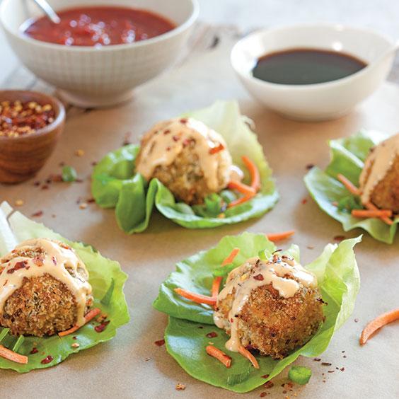 best of Chicken balls Asian