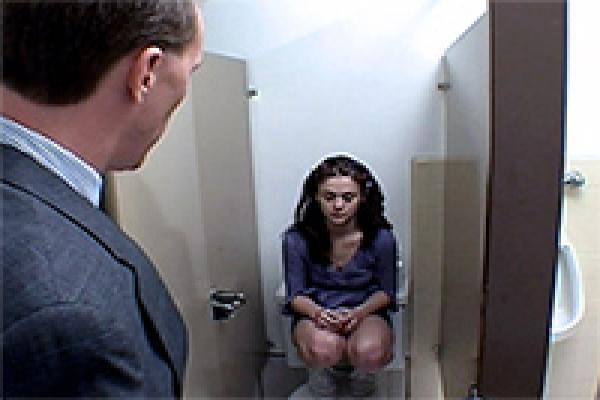 Caught school bathroom